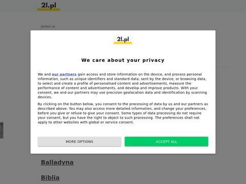 2l.pl opracowania lektur