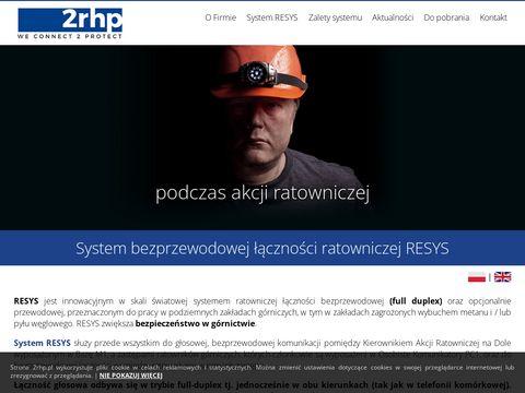 2rhp.pl łączność ratownicza
