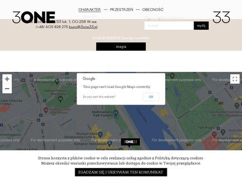 3one33.pl przestrzeń kreatywna Warszawa