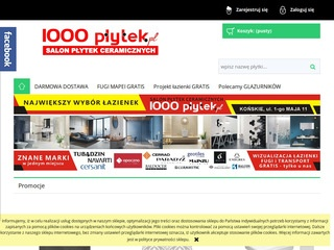 1000lazienek.pl projekty łazienek końskie