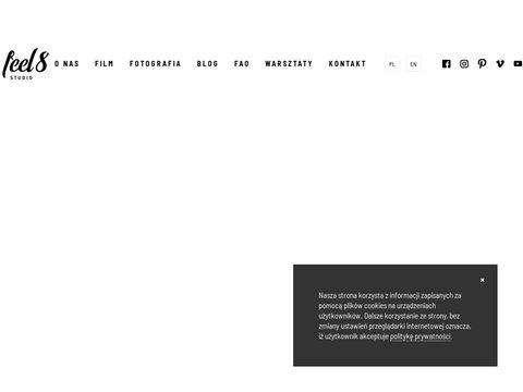 Feel8studio.pl kamerzysta na wesele