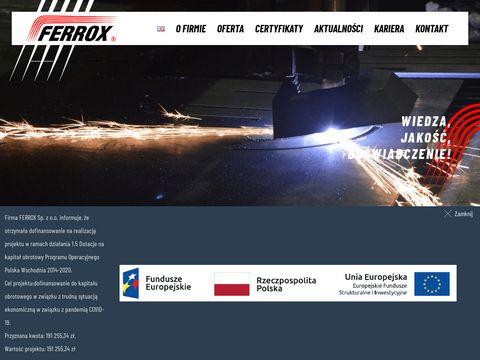 Ferrox Białystok instalacje ciepłownicze