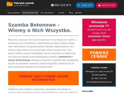 Fabrykaszamb.pl szamba ekologiczne