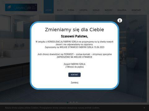 Fabrykaszkla24.pl panel dekoracyjny do kuchni