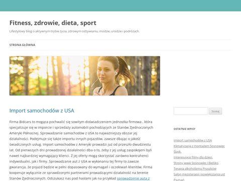 Fitnesanka.pl aktywny tryb życia