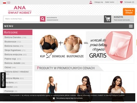 FirmaAna.pl biustonosze sklep