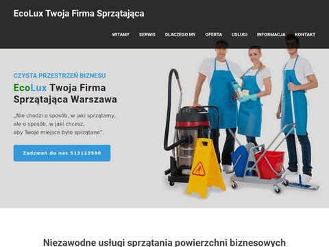 Firma sprzątająca - sprzątanie Warszawa