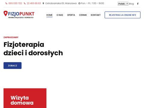 Fizjopunkt.pl fizjoterapeuta dziecięcy