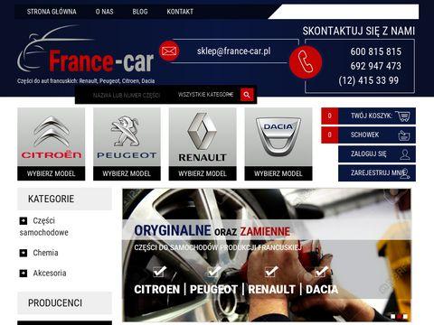 France-car.com.pl części do aut francuskich