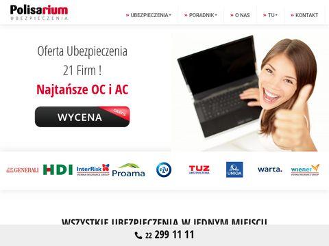 Generali.net.pl promocyjne pakiety OC i AC