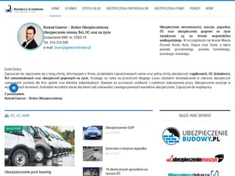 Gawron-broker.pl ubezpieczenie pojazdu
