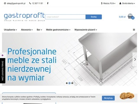 Gastroprofit.pl piece konwekcyjno parowe