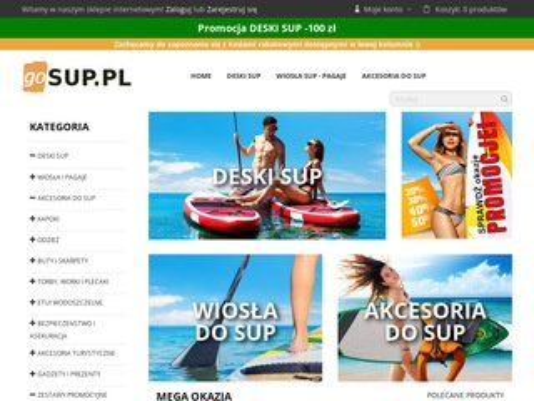 Gosup.pl sklep surfingowy