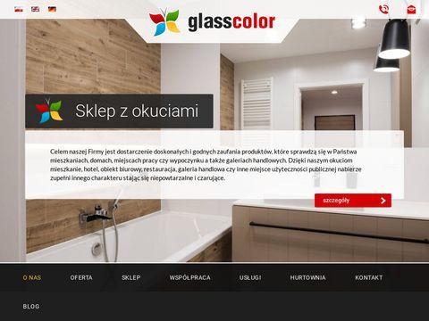 Glasscolor.pl drzwi szklane Warszawa