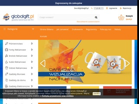 Globalgift.pl gadżety reklamowe sklep