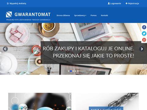 Gwarantomat.pl skanowanie kodu