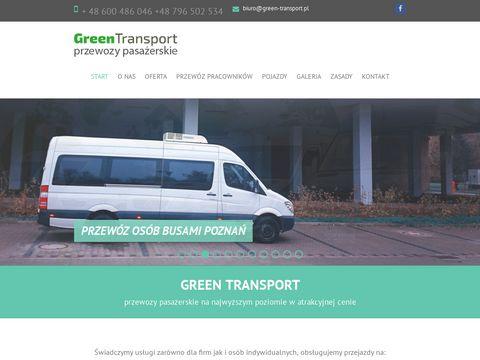 Green-transport.pl przewozy pasażerskie