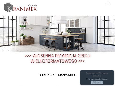 Granimex więcko Impregnaty do granitu Warszawa