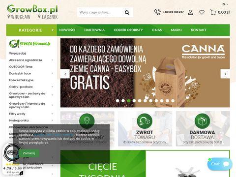 Growbox.pl oświetlenie led do uprawy roślin