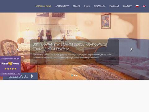 Grodzka21.pl apartamenty Kraków centrum