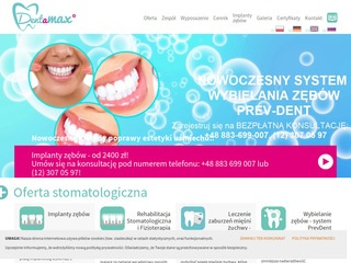 Dentamax centrum implantologii