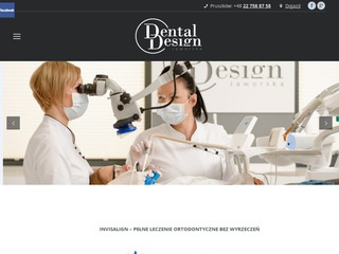 Dental-design.com.pl stomatolog Warszawa