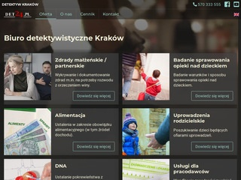 Det24.pl usługi detektywistyczne
