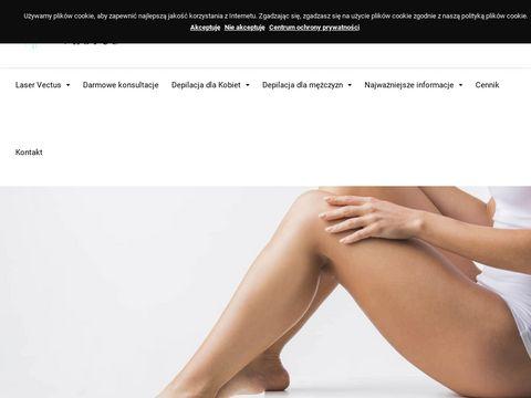 Depilacjavectus.pl laserem Trójmiasto