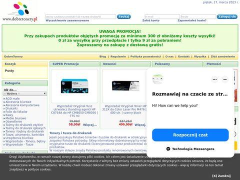 Dobretonery.pl zamiennik oki