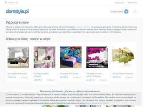 Domstyle.pl fototapety dla dzieci