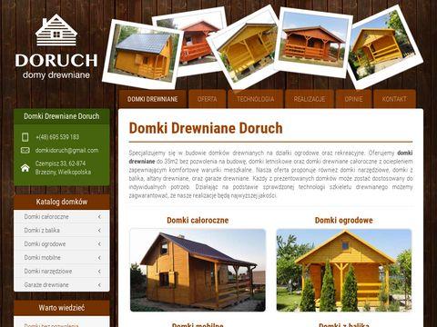 Domki drewniane Wielkopolskie