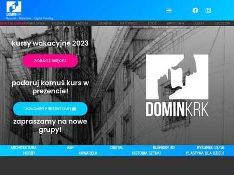 Domin-krakow.pl szkoła rysunku