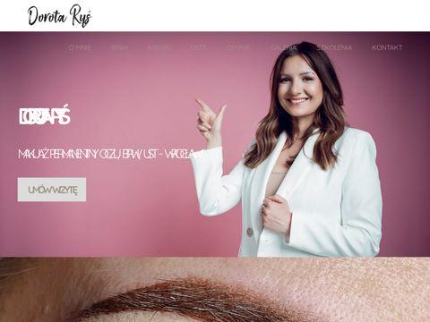 Dorotarys.pl makijaż permanentny ust