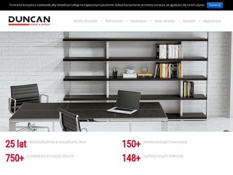 Duncan.com.pl meble biurowe Wrocław