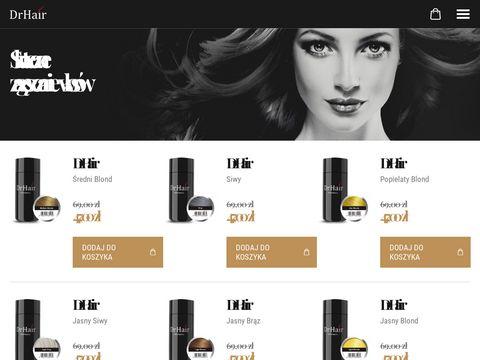 Drhair.pl zagęszczanie włosów
