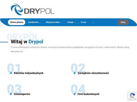 Drytech.pl osuszanie podposadzkowe