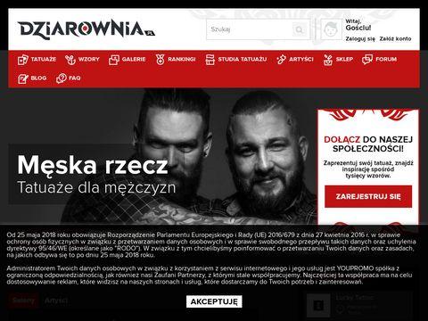 Dziarownia.pl damskie i męskie wzory tatuaży