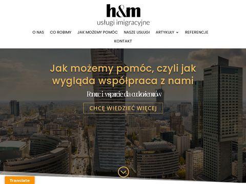 D-hm.pl zatrudnianie cudzoziemców