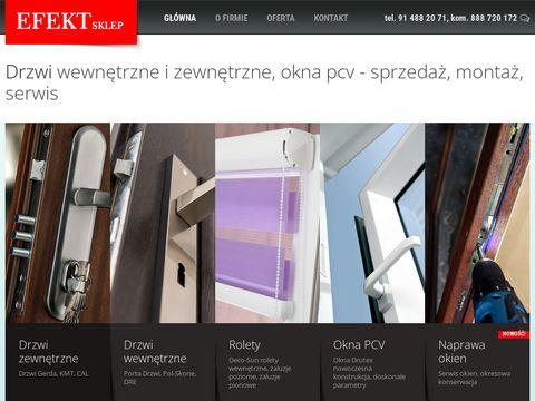 Efekt.sklep.pl okna szczecin