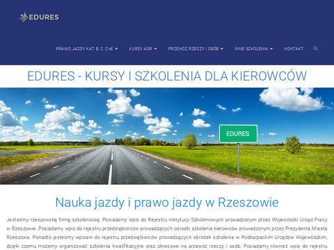 Edures.pl prawo jazdy w Rzeszowie