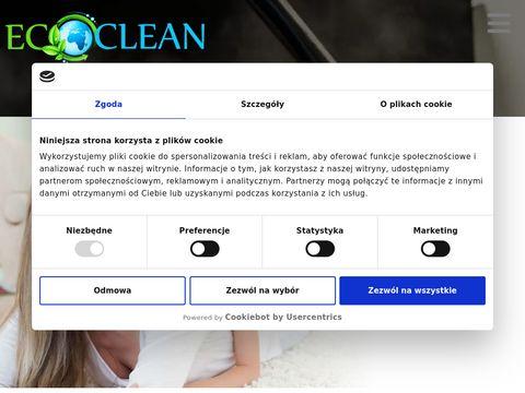 Ecoclean-gdansk.pl czyszczenie dywanów
