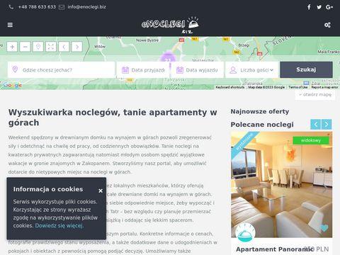 ENoclegi.biz - baza noclegów Zakopane