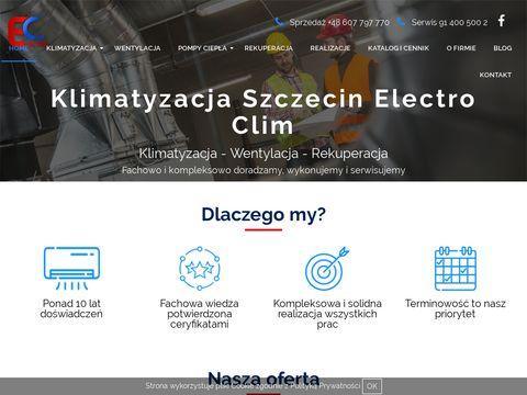 Electro-clim.com.pl rekuperacja Szczecin