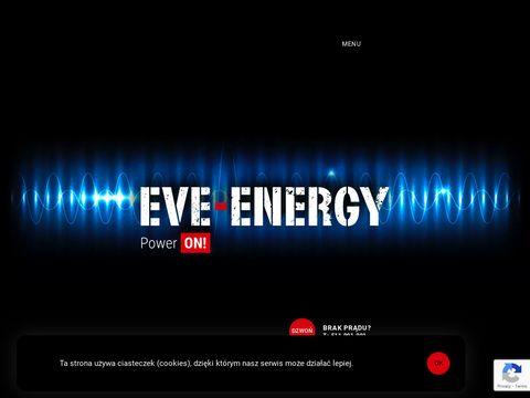 Eve-energy.pl usługowo agregaty prądotwórcze