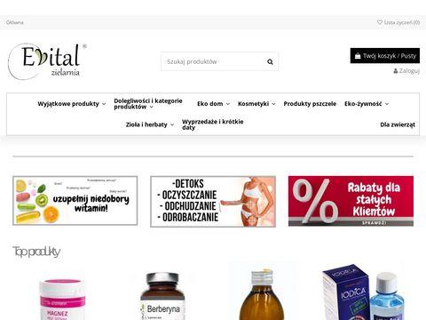 Evital.pl naturalne suplementy