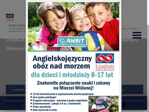 Eu.com.pl kurs angielskiego Gdynia