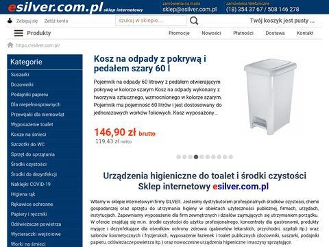 Esilver.com.pl - kosze na śmieci