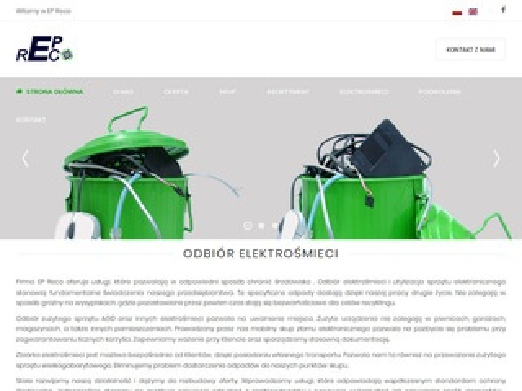 Epreco - punkty zbiórki elektrośmieci