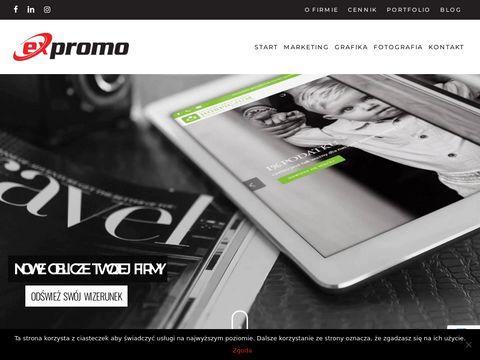 Expromo projektowanie stron internetowych