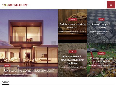 E-metalhurt.com.pl sklep artykuły metalowe